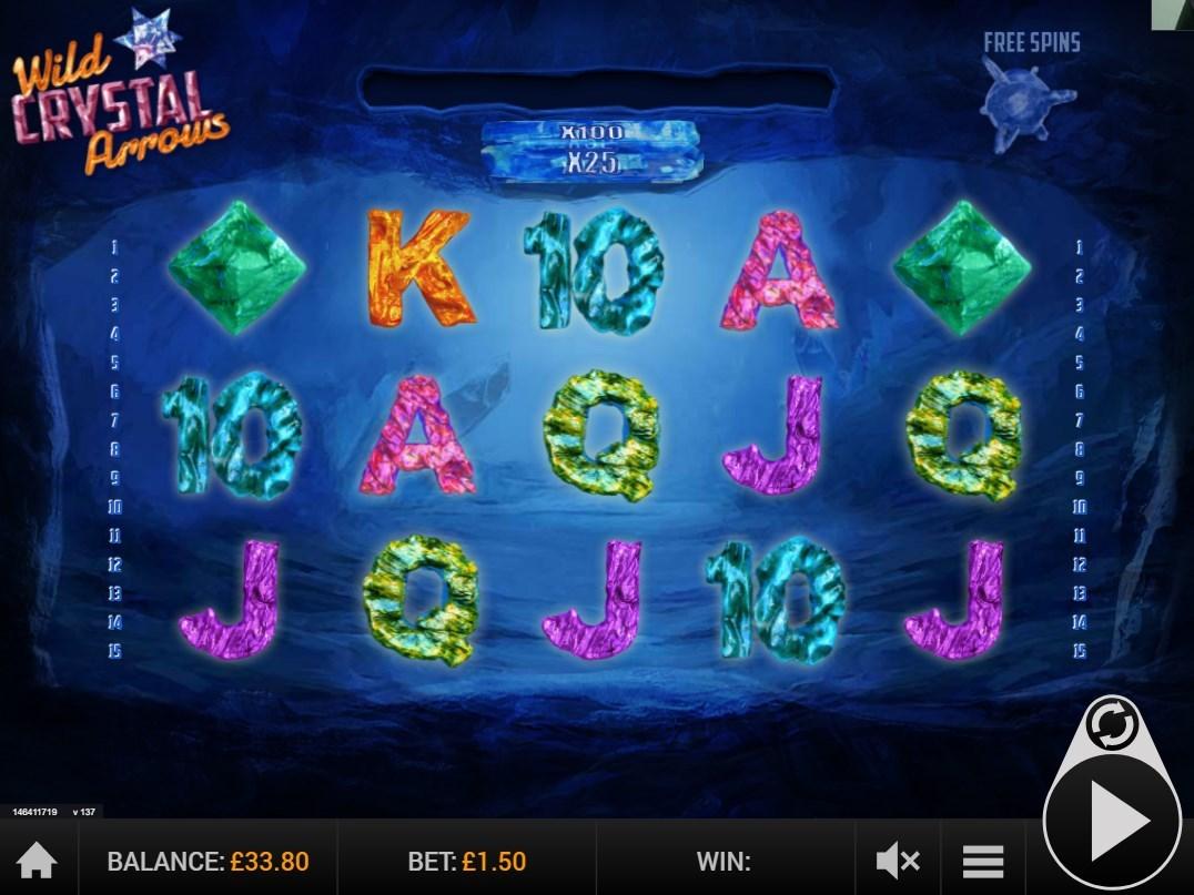 Wild Crystal Arrows Slot Machine