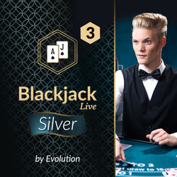 Blackjack Silver 3 by Evolution