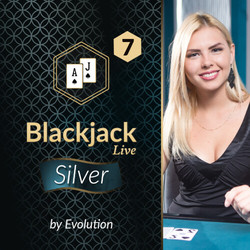 Blackjack Silver 7 by Evolution