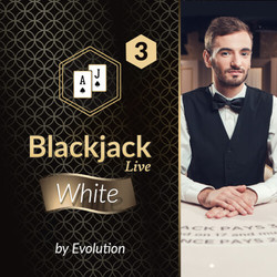 Blackjack White 3 by Evolution DK