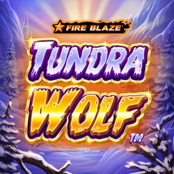 Golden Tundra Wolf