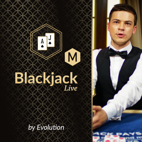 Blackjack M by Evolution