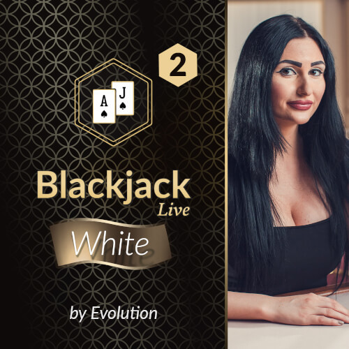 Blackjack White 2 by Evolution DK