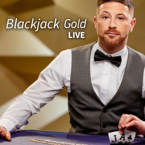 Blackjack White Gold by NetEnt
