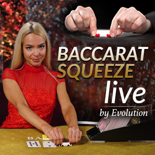 Baccarat Squeeze By Evolution