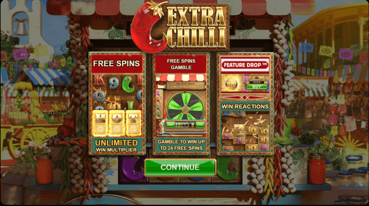 Play Extra Chilli Slot | Online Casino | 25 GIANT Free Spins