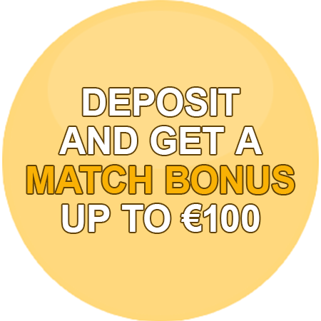 Get a match bonus of up to $350