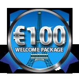 Ваш стартовый пакет €100
