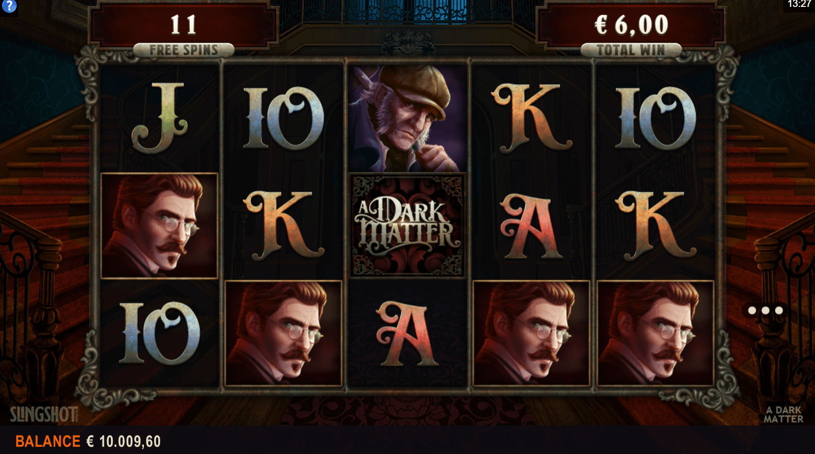 Paytable from Thor's Lightning slot game at PlayOJO