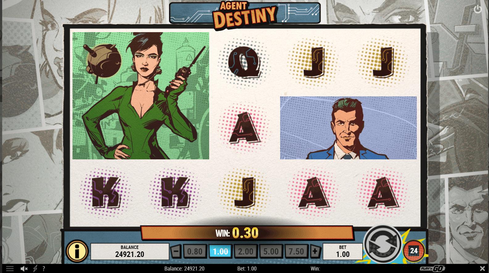 Agent Destiny Slot Game