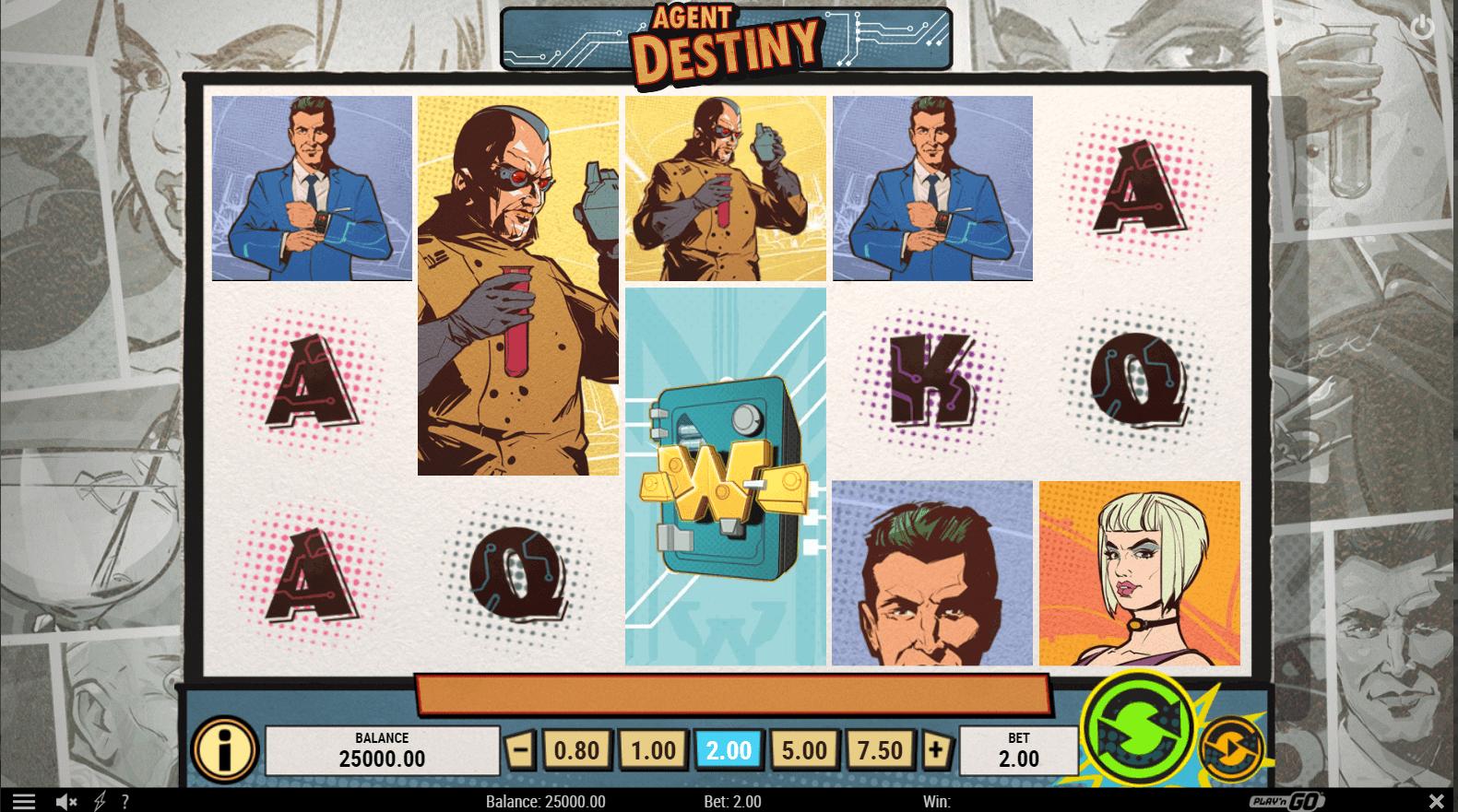 Agent Destiny Slot Machine