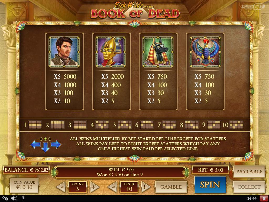 Book Of Dead – game slots heros