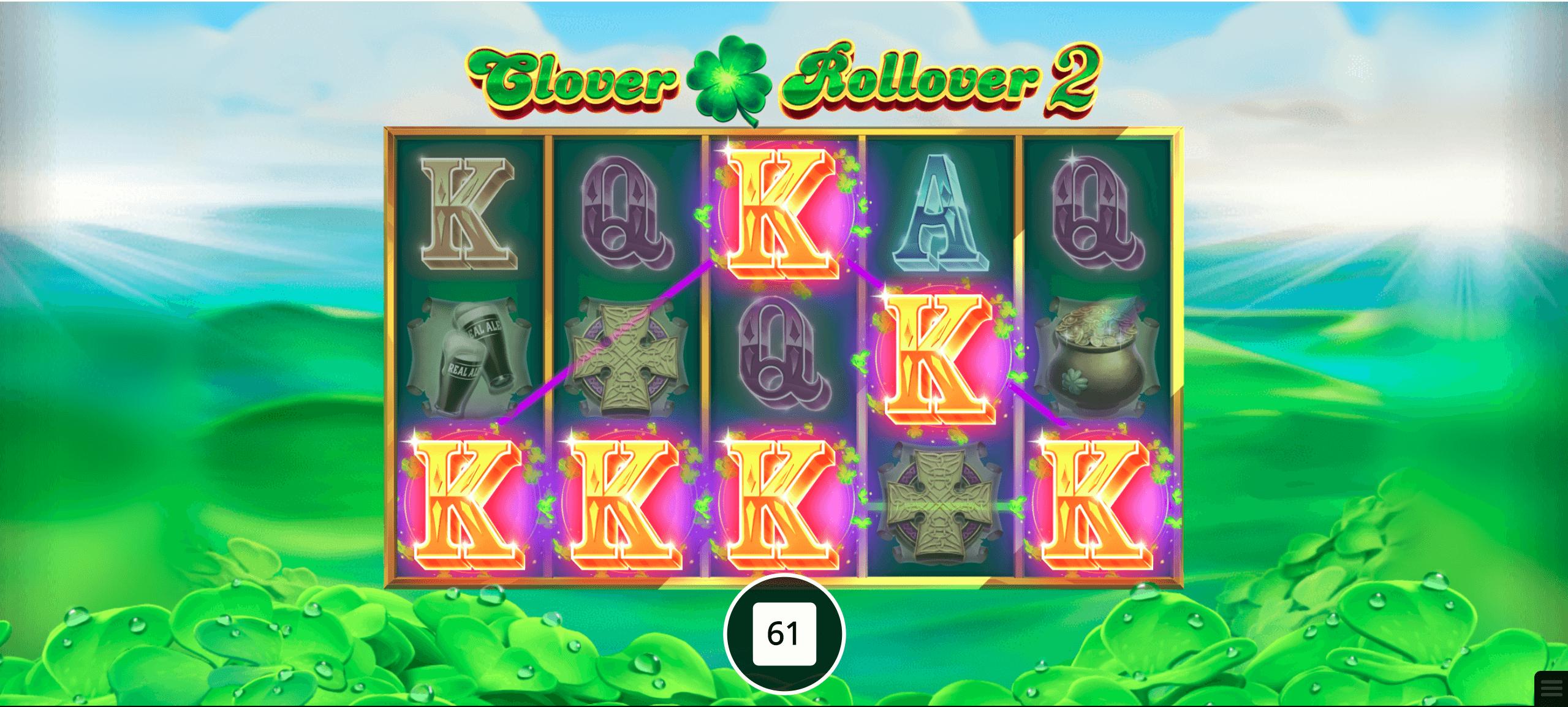 Play Clover Rollover 2 Slot | 50 Free Spins | PlayOJO