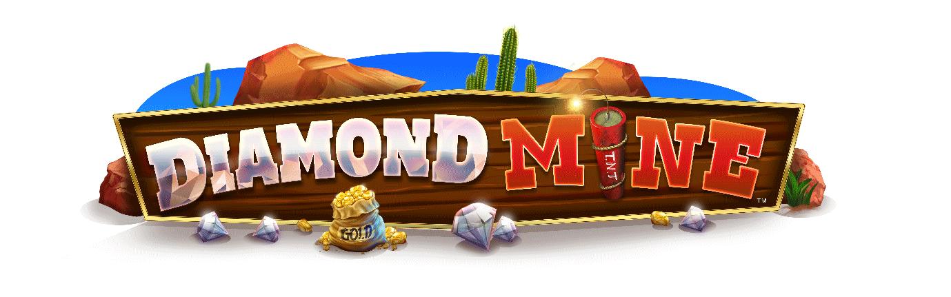 Diamond Mine slot logo