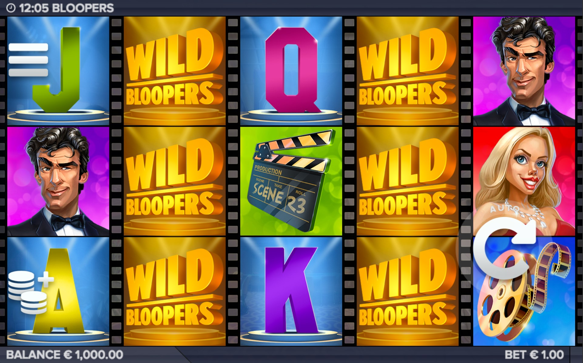 Wild symbols in Bloopers online video slot from ELK Studios