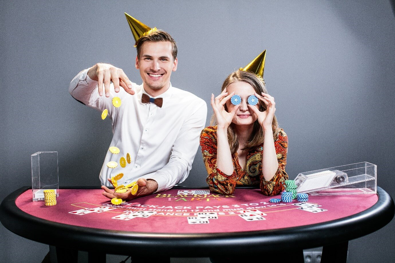 Blackjack Party table from Evolution Gaming live casino