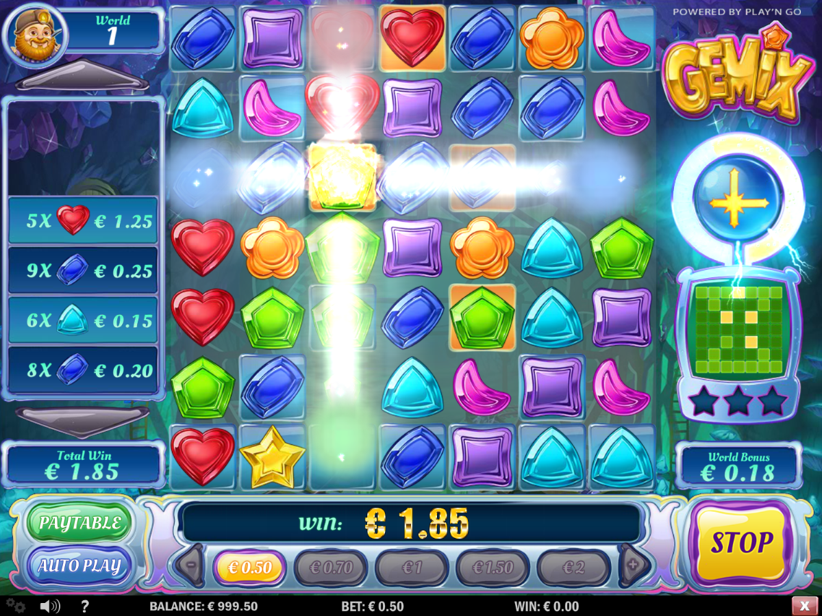Gemix slot – Super Charged
