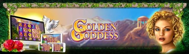 Play Golden Goddess slot on desktop, tablet or mobile at PlayOJO