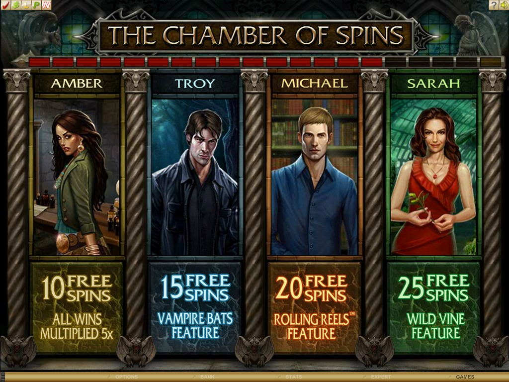 The Chamber of spins the main character