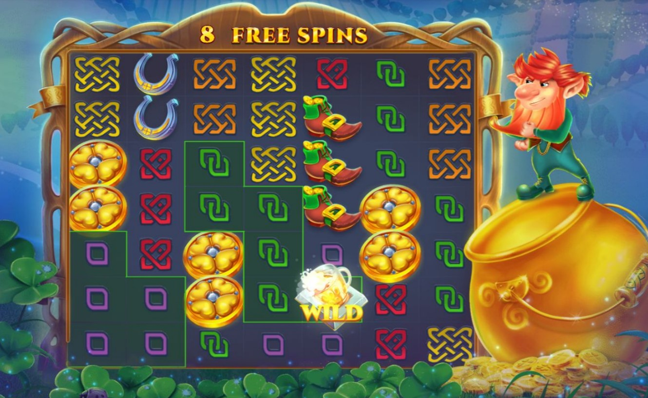 Free Spins round during Jack In A Pot video slot game