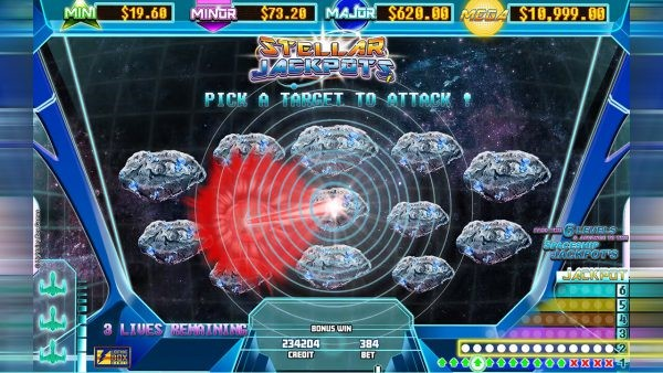 Lightning Box Games' Stellar Jackpots mini game