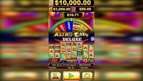 Astro Cat Deluxe online slot machine at PlayOJO