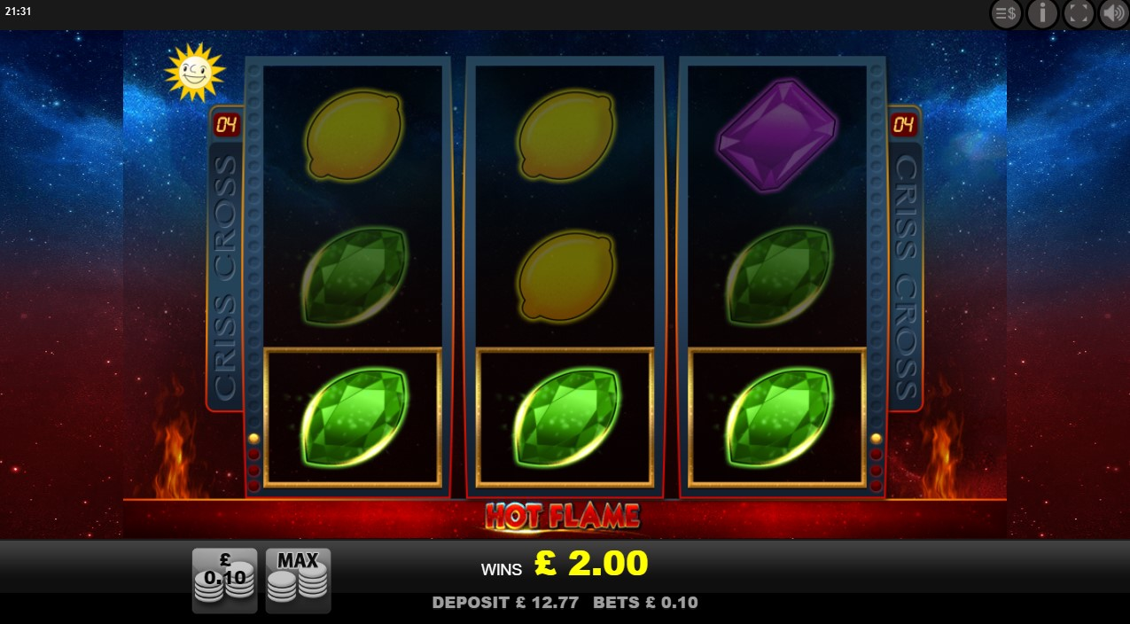 Go back in time with Merkur's Hot Flame online slot game at PlayOJO