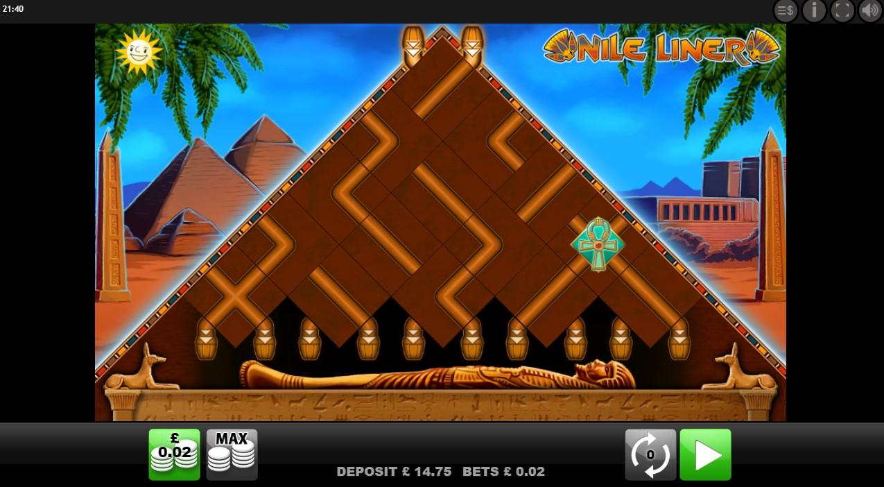Nile Liner online slot game