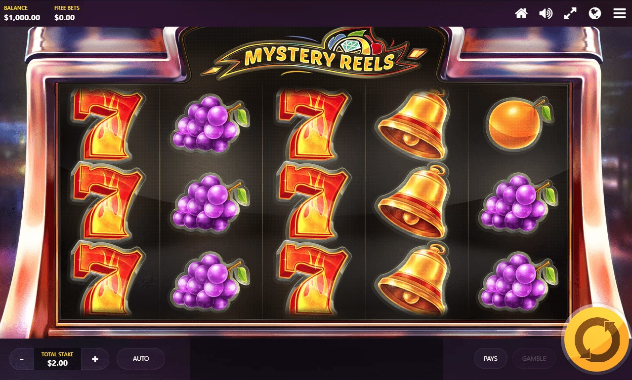 Play Mystery Reels slot online at PlayOJO