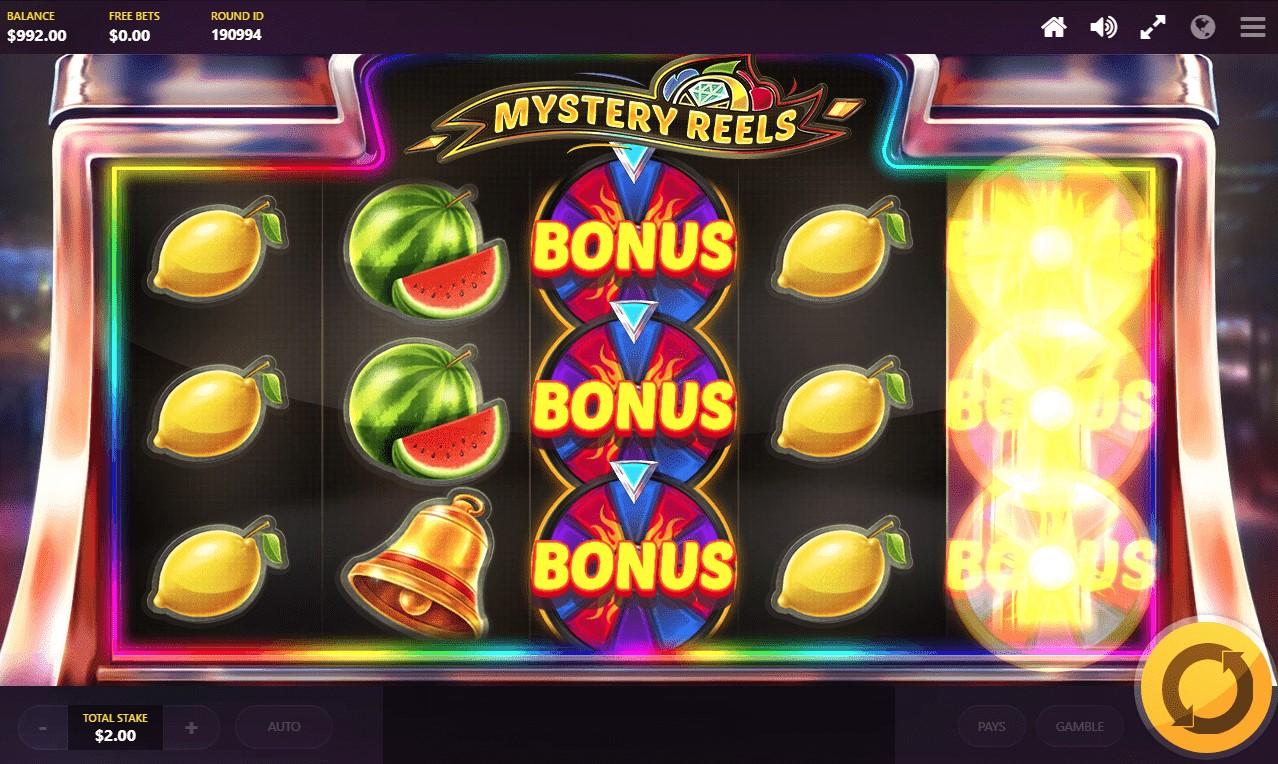 Mystery Reels video slot bonus symbols