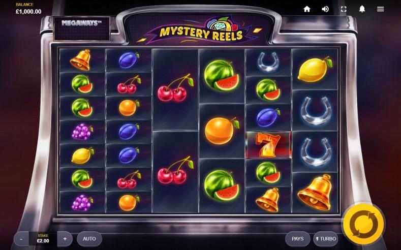 Mystery Reels MegaWays™ base game screenshot