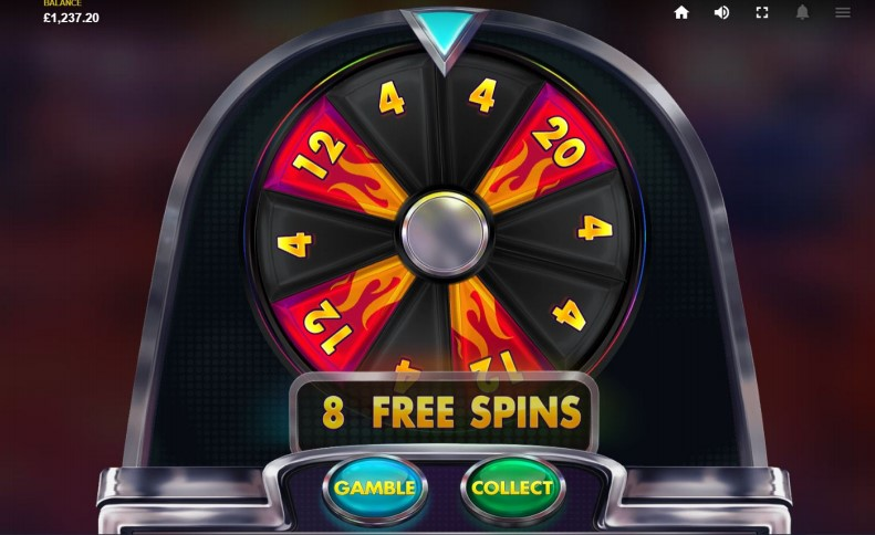Free Spins gamble game in Red Tiger's Mystery Reels MegaWays slot