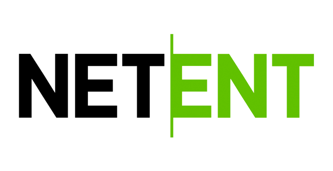 The famous black & green logo of gaming giant NetEnt