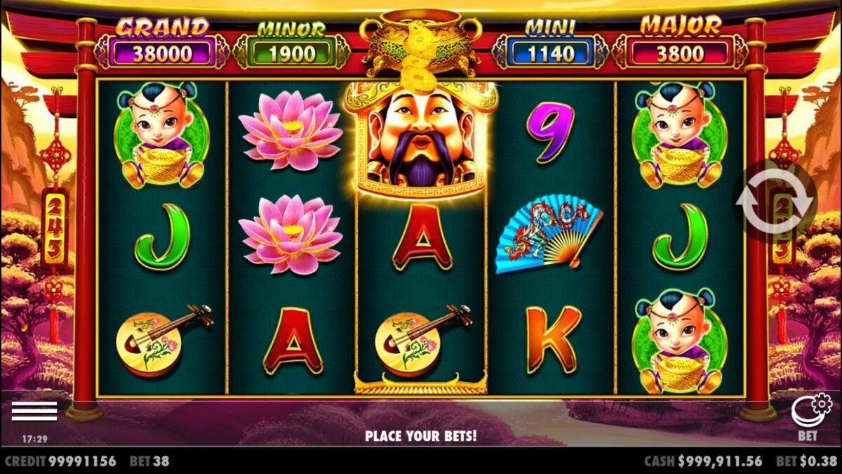Caishen's Gold online slot from Pragmatic Play