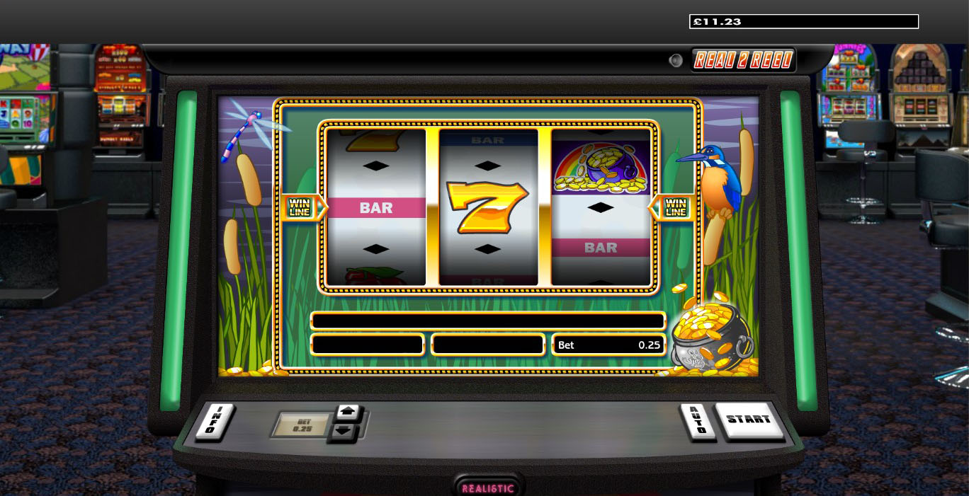 Over The Rainbow online slot from Realistic Gaming