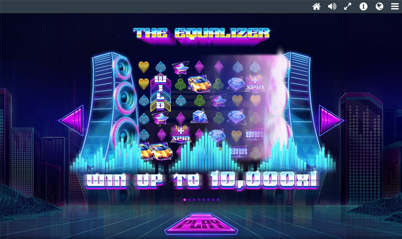 Win up to 10,000x on The Equalizer video slot at PlayOJO casino