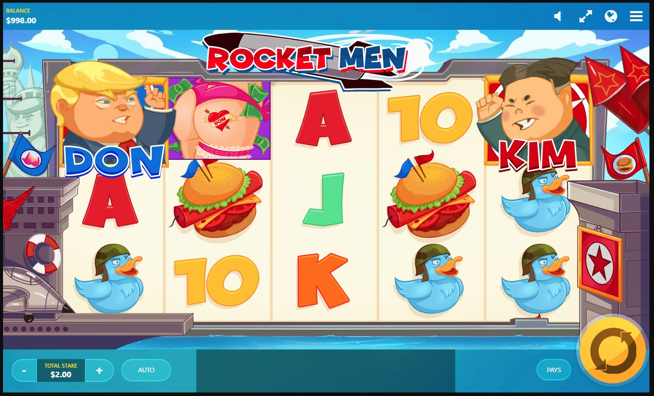 :Red Tiger's award-winning Rocket Men online video slot at PlayOJO