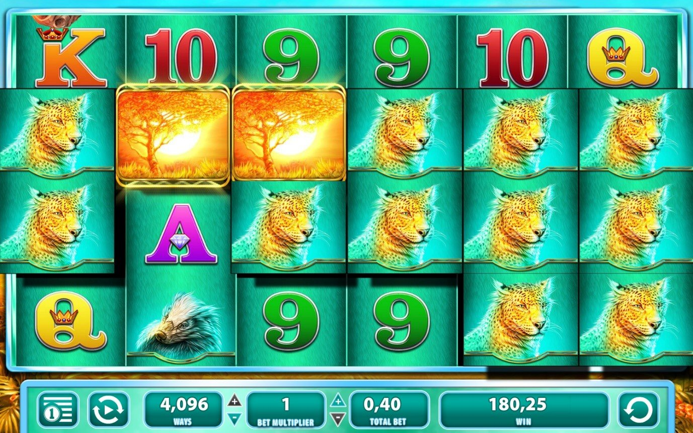 Hit 3 or more Rhinos and cash your money - Ranging Rhino slots