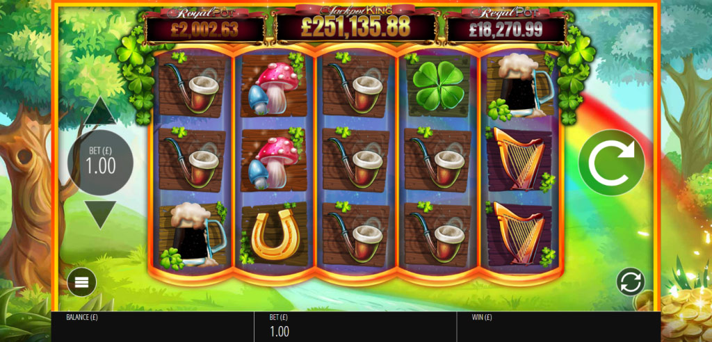 Win your jackpot fortune when you play Slots O' Gold at PlayOJO