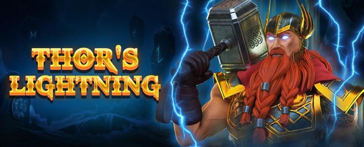 Thor's Lightning slot logo