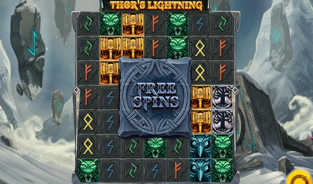 Red Tiger Gaming's Thor's Lightning slot game