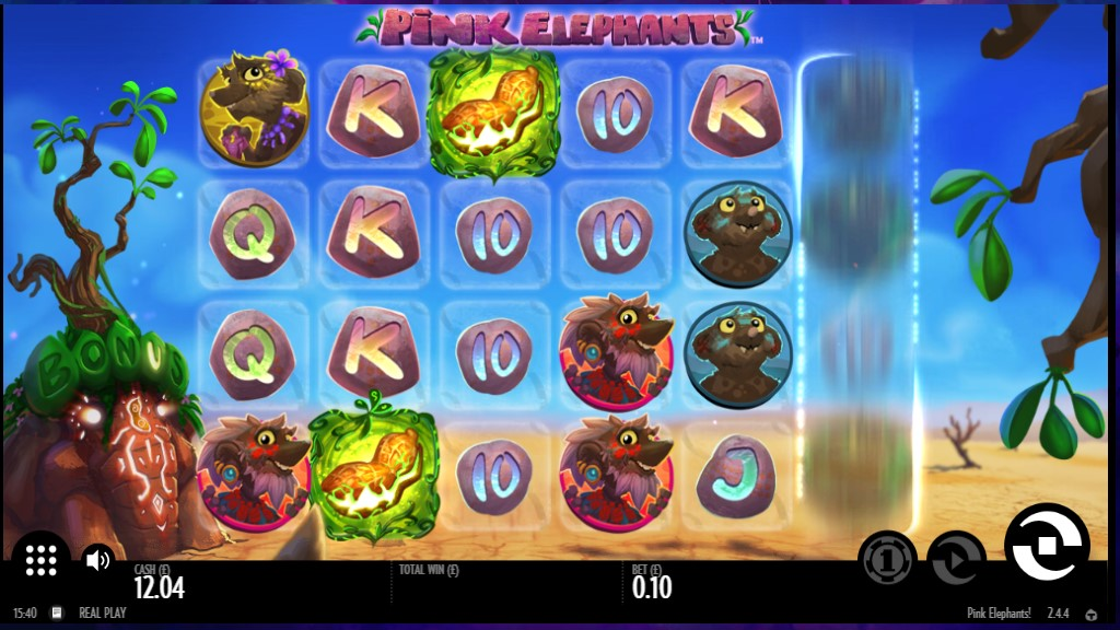 Thunderkick's Pink Elephants video slot