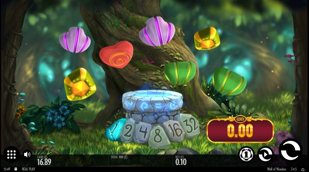 Thunderkick's unique Well of Wonders online slot