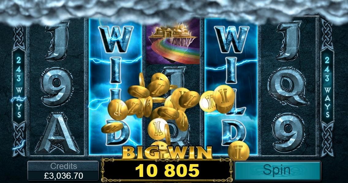 ThunderStruck offer Wildstorm of big win