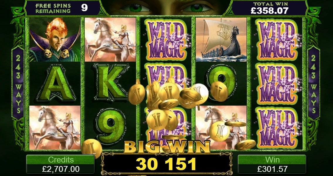 Loki on ThunderStruck gives 15 free spins with couple of twists