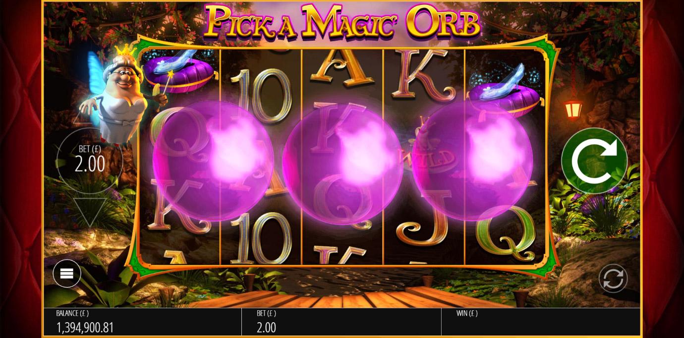 Fairy Godmother bonus game