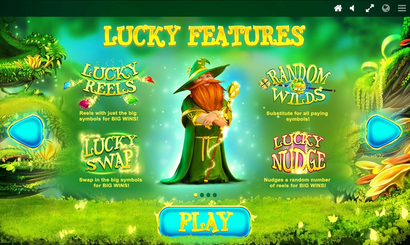 Four Lucky Features from PlayOJO's Lucky Wizard online slot