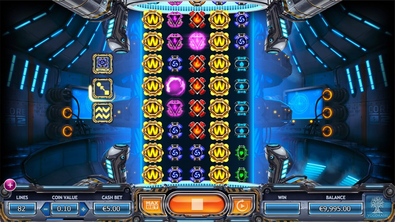 Power Plant online slot from Yggdrasil casino games supplier