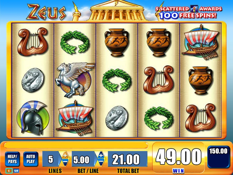 Play Zeus 1 online slot machine at PlayOJO casino