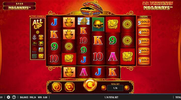 88 Fortunes slot jackpot
